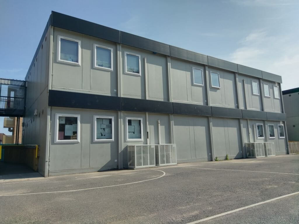 modular office buildings, temporary buildings