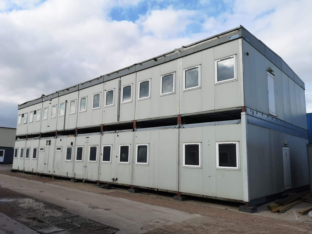 prefab buildings, modular office buildings