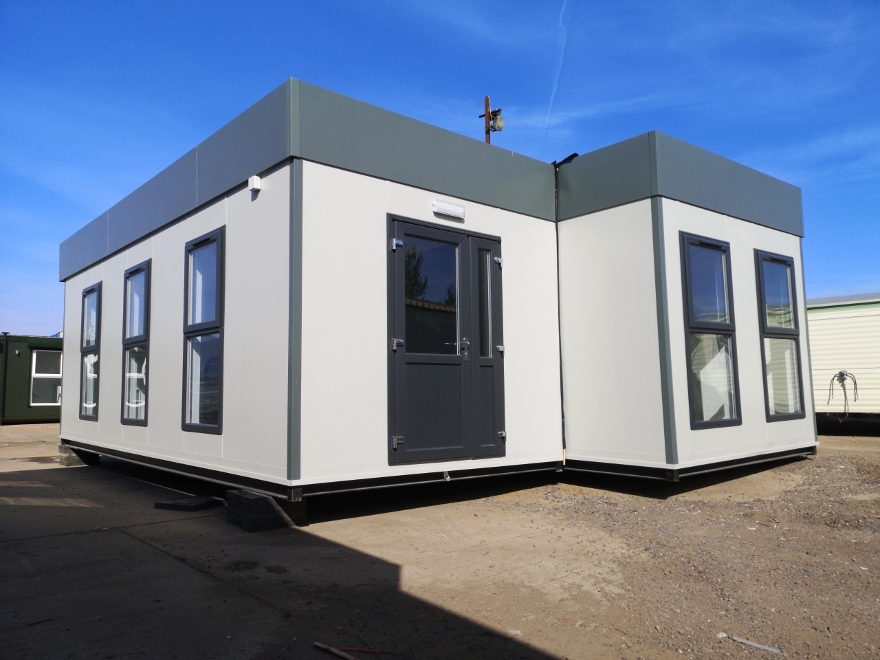 New Two Section Clearview Modular Building Image