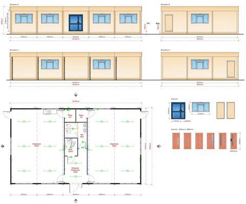 modular classrooms, portable buildings, modular buildings