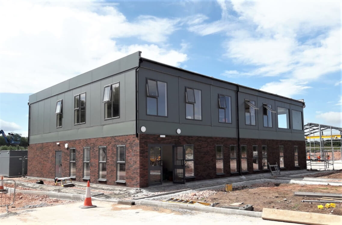 modular buildings, temporary buildings, modular office buildings