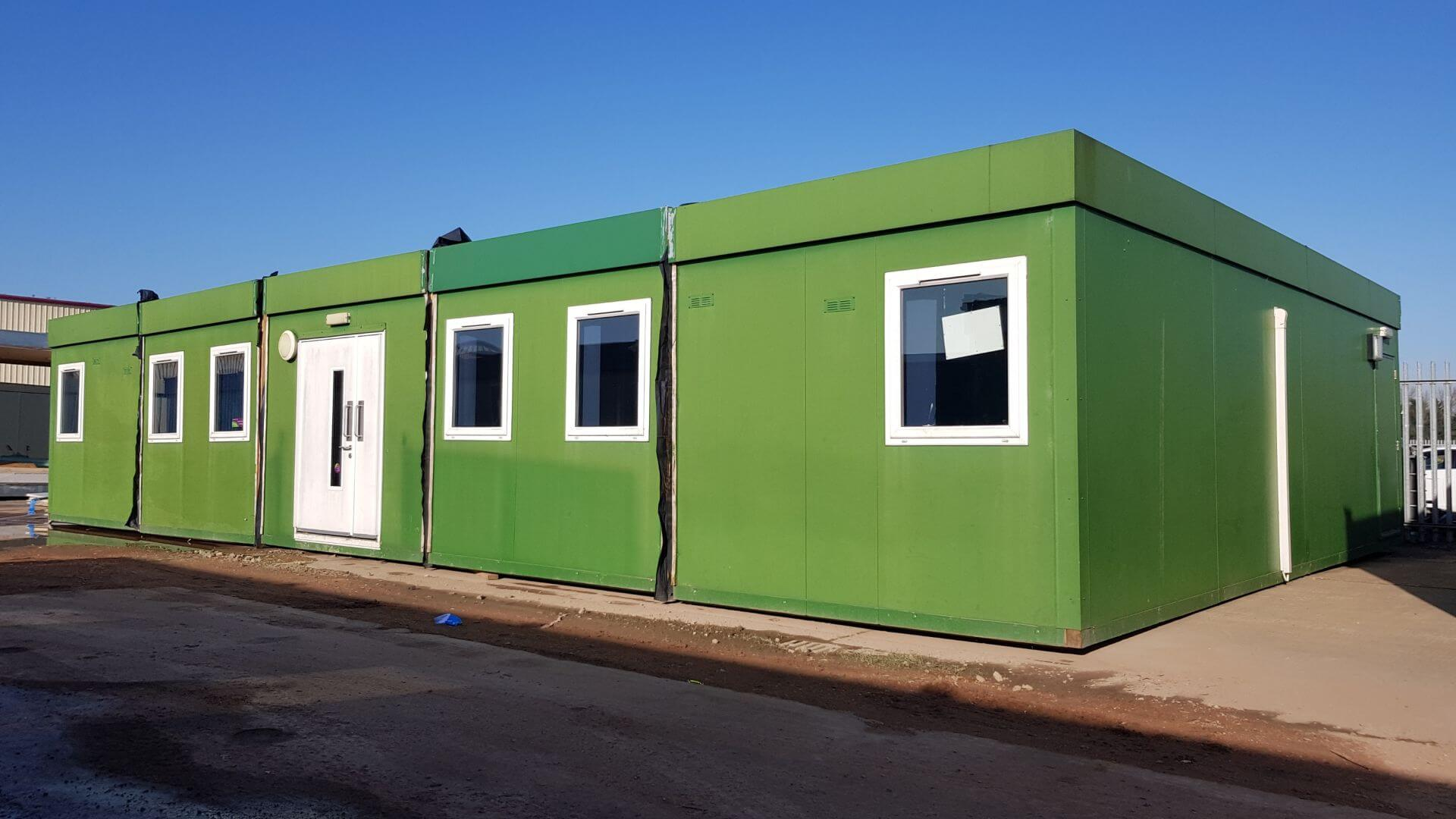 138 m² Five Section Modular Building Image