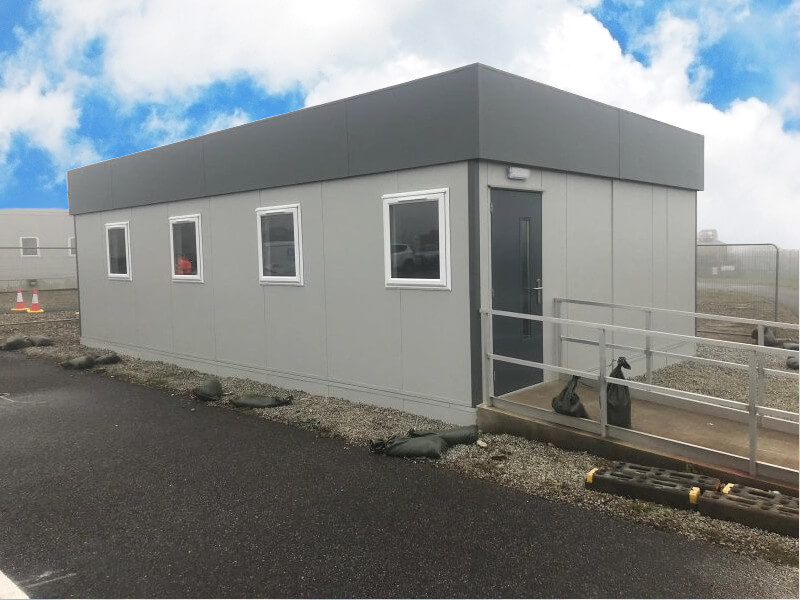 Temporary Buildings, Prefab Buildings, Portable Office Cabins for Sale
