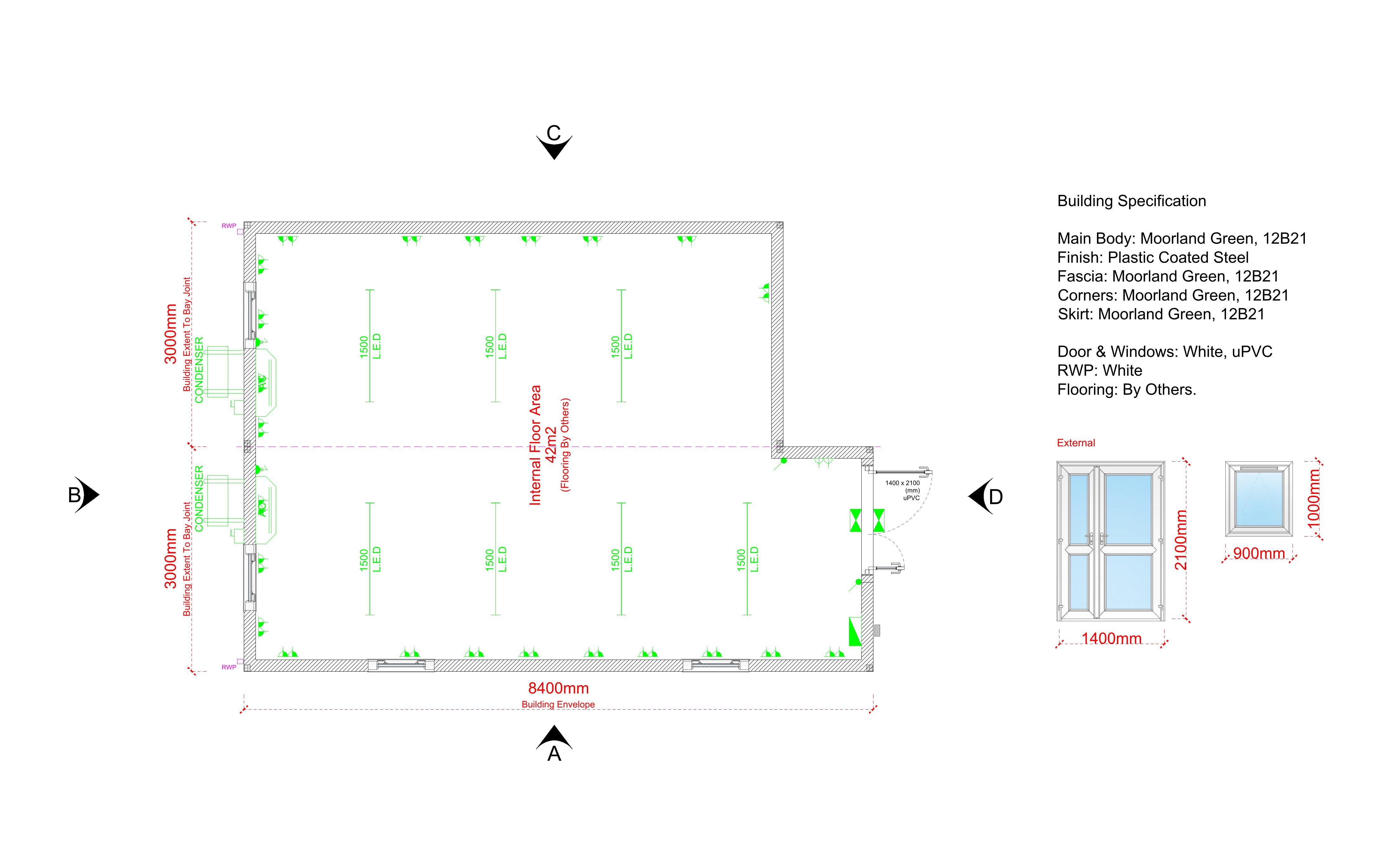 modular buildings, modular classrooms, modular office buildings